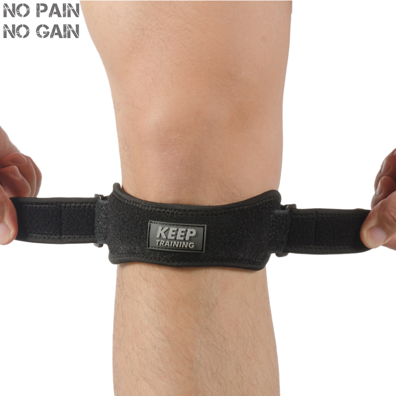 NO PAIN NO GAIN Knee Pads Sports Support Sponge Patella Support Brace Protector 1 PC Safety Protection Kneepad BGD