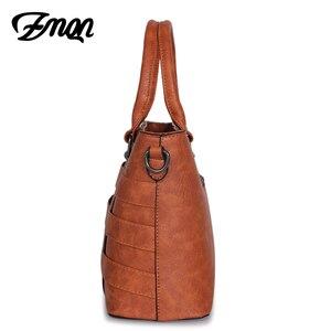 Image 3 - Zmqn Handtas Vrouwelijke Crossbody Tas Voor Vrouwen Tas 2020 Designer Handtassen Beroemde Merk Lederen Handtassen Dames Bolsa Feminina A821