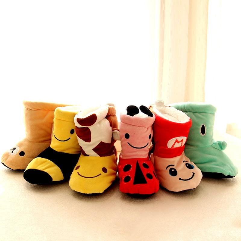 1 par Bebé Zapatos de Algodón Invierno Espesar Cálido Bebés - Zapatos de bebé