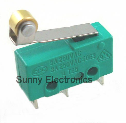 10PCS MICROSWITCH LIMIT SWITCH 3pin N/O N/C MICRO SWITCH