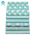 50*160cm Cartoon Stripes Dot Cotton Fabric For Patchwork Quilts Pillows Baby BeddingTextile And Quilting Crafts Material