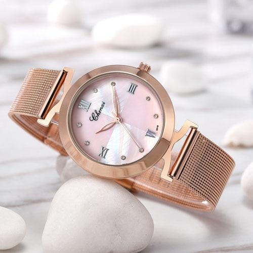 CHENXI Rose Gold Wrist Watch Women Watches Ladies Luxury Brand Famous New Golden Quartz Wristwatch For Female Clock Montre Femme chenxi luxury female golden clock quartz watch women watches jewelry ladies gold strap wristwatch fashion quartz watch women s