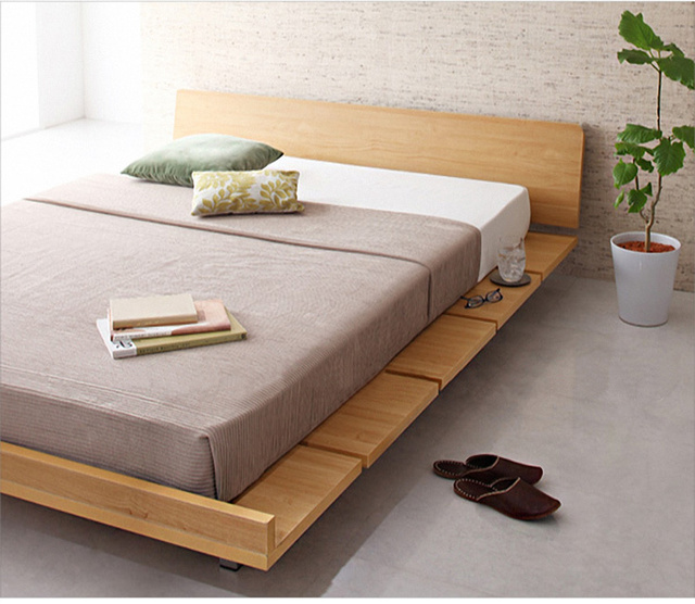 Ikea del medio ambiente simple cama tatami cama placa 1.5 m 1.8 m ...