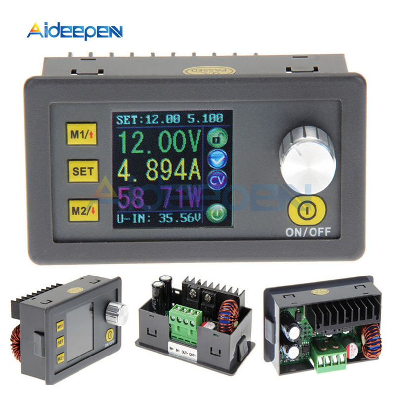 DP50V5A DP30V5A DPS3003 LCD Constant Voltage Current Step-Down Programmable Power Supply Module Buck Voltage Converter Voltmeter