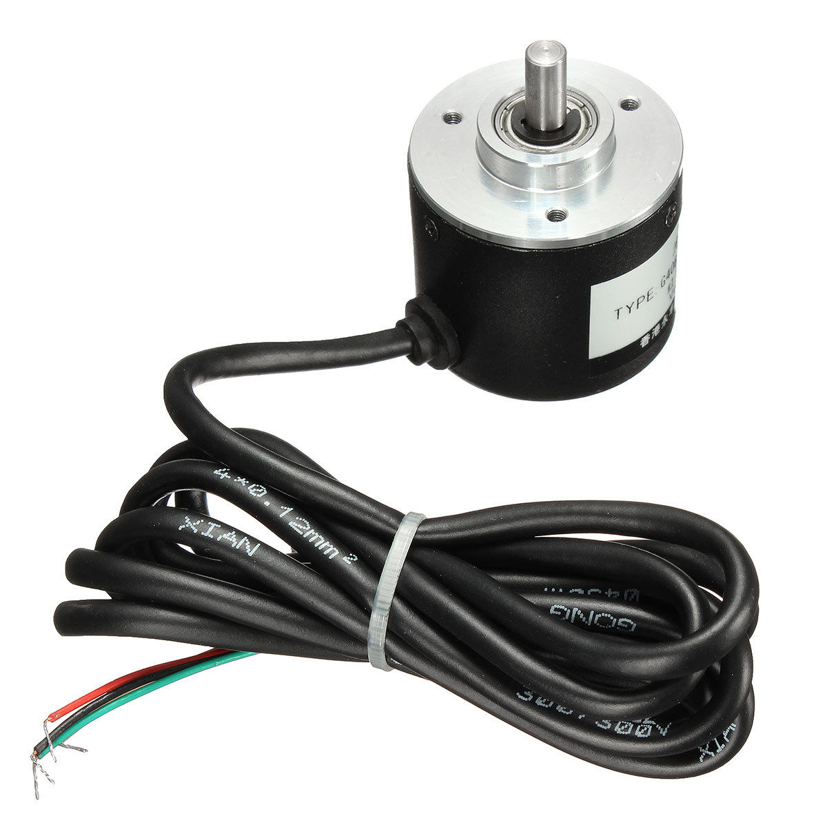 THGS Rotary Encoder 400P/R 6mm Incremental Optical Shaft Working Measurement 5-24V nib rotary encoder e6b2 cwz6c 5 24vdc 800p r