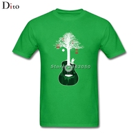Serenade Guitar Tree Root T Shirt Men Man S Tailored Short Sleeve Crewneck Cotton Big Size