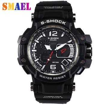 Digital Watches Men Sorts 50M Professional Waterproof Quartz Large Dial hours military Luminous Wristwatches Relogio Masculino