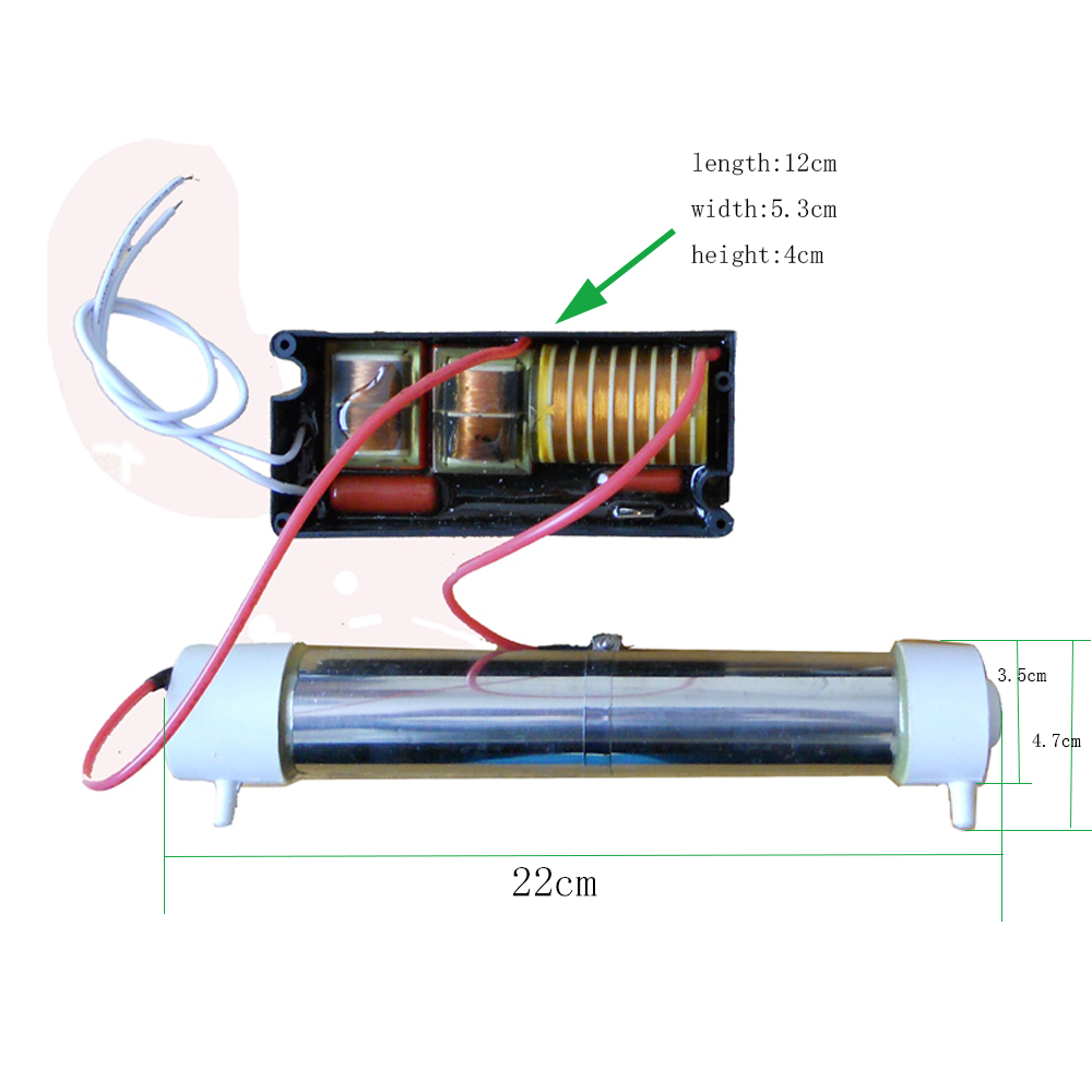 110v 220v Silica Tube Ozone Generator 35g H With Accessory Optional Circuit 3 5g Diy For Air And Water Disinfector Free Shipping In Purifiers From Home Appliances
