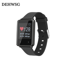 DEHWSG Новое прибытие умный браслет D10 heart rate monitor Whatsapp Facebook Уведомления смарт браслет Для IOS Android phone