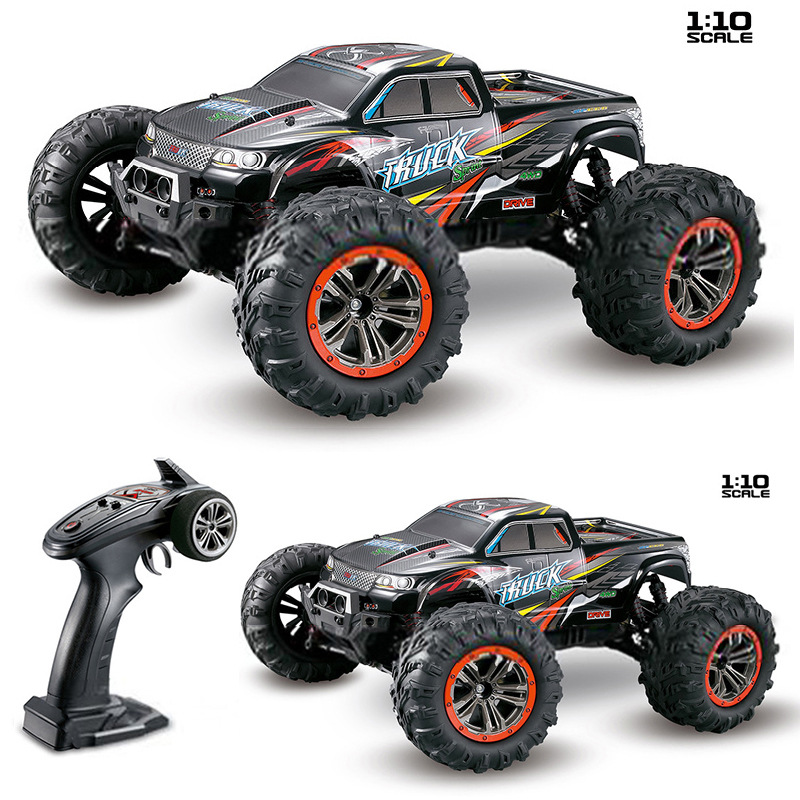 High Quality RC Car 9125 2.4G 1:10 1/10 Scale Racing Cars Car Supersonic Monster Truck Off-Road Vehicle Buggy Electronic Toy willys jeep 1 10