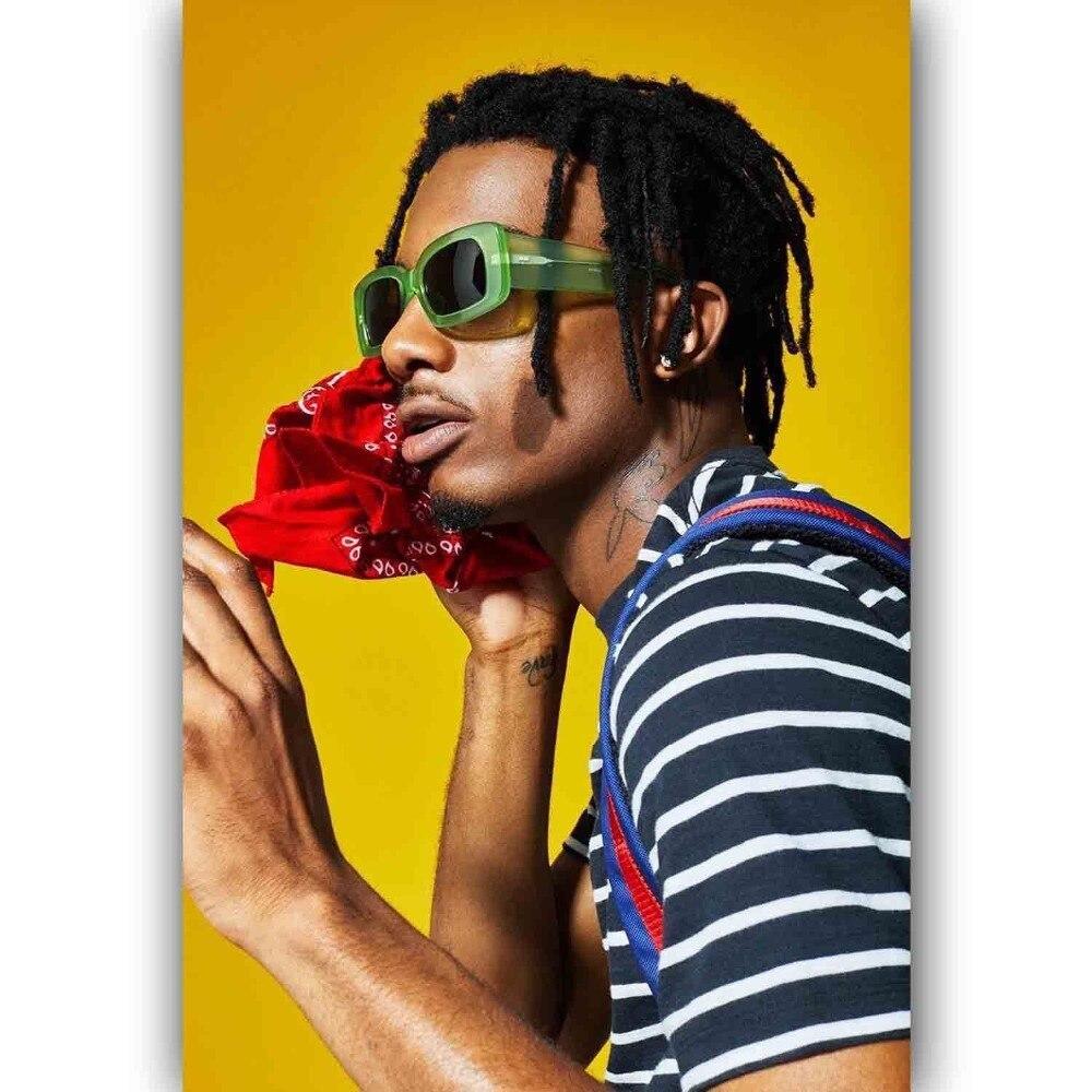 "New Playboi Carti Lil Uzi Vert Rap Music Singer Star 24x36/"" Poster Art Custom"