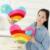 Rainbow Sweet Love Coração bonito Brinquedo de Pelúcia Travesseiro Presente de Casamento a Namorada de Aniversário Almofada Macia