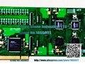 SHR-16DA-CT/PCI Digital Telephone recording card contains a module 100% test