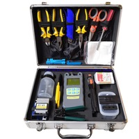 FAST SHIPPING FTTH Tool Kits with Fiber Cleaver, Power Meter, Visual Fault Locator, Miller and Stripper/Optic Fiber Tool