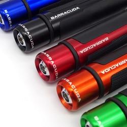 Мотоциклетные ручки с зажимами, гоночный руль с ЧПУ 22 мм 7/8 дюйма cafe racer для kawasaki z750 z900 z1000 z650 versys 650 Ninja ZX10R