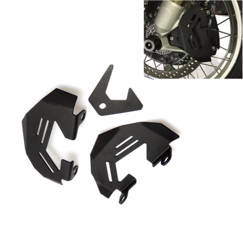 Aluminum Front Brake Caliper Cover Guard For BMW R1200GS Adventure 2014-2015 kemimoto for bmw motorcycle front brake caliper cover protection cover guard for bmw r nine t 2014 2017 r1200gs lc 2013 2015