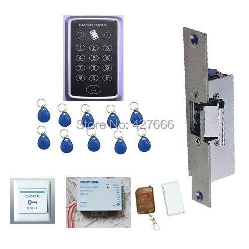 ФОТО Free shipping+10 RFID tag NEW RFID Proximity Door Access Control System RFID/EM Keypad Access Control kit