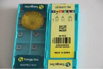 FROM KOREA Taegutec  CCMT060208PC TT9080  carbide inserts  CCMT 060208 PC TT9080  for General  steel OR  High-temp alloys