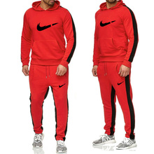 Brand hoodie 2019 new sports suit mens casual cotton autumn and winter warm shirt street hip hop hot hooded