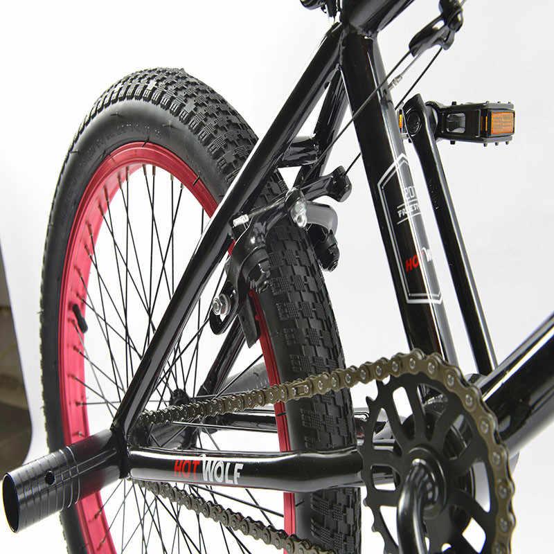 BMX велосипедная стальная рама, 20 дюймовый Мужской Фристайл шоу, собственный уличный угол экстремальный трюк, горный велосипед задний тормоз, V велосипед трюк acti