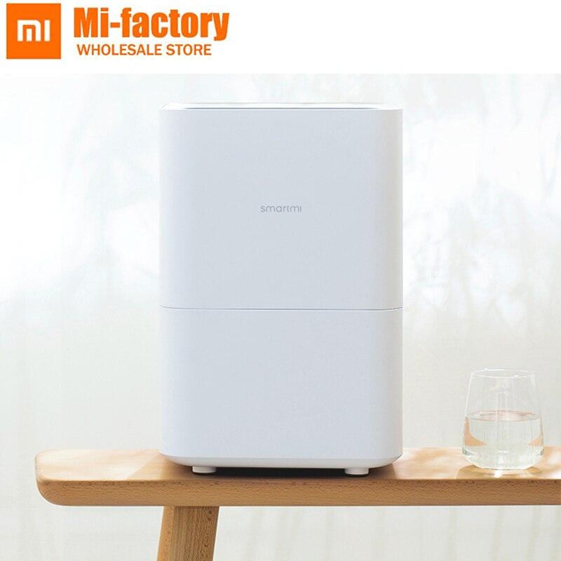 2018 humidificateur évaporatif d'origine Smartmi Xiaomi 2 pour votre maison diffuseur d'arôme d'air huile essentielle mijia APP contrôle