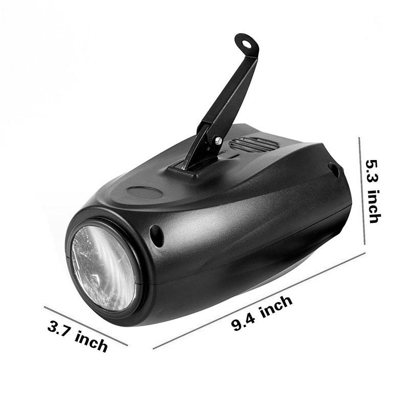 TRANSCTEGO Zvočne luči DJ Disco Light LED-svetilke z lasersko - Komercialna razsvetljava - Fotografija 2