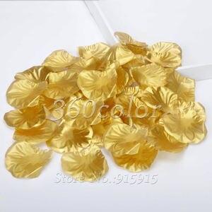 Image 5 - 100pcs משי רוז עלי כותרת שולחן קונפטי מלאכותי פרח תינוק מקלחת אמנות מסיבת חתונת אירועים אספקת קישוט נישואים