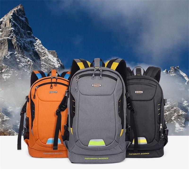 2017 New Fashion Digital <font><b>Photography</b></font> Backpack Shoulder Bag For Canon Nikon Sony Multipurpose Student Bag