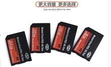 Envío gratis real Capacidad MS HG 16 GB Tarjetas de Memoria Memory Stick Pro Duo para sony psp teléfono tableta de la cámara