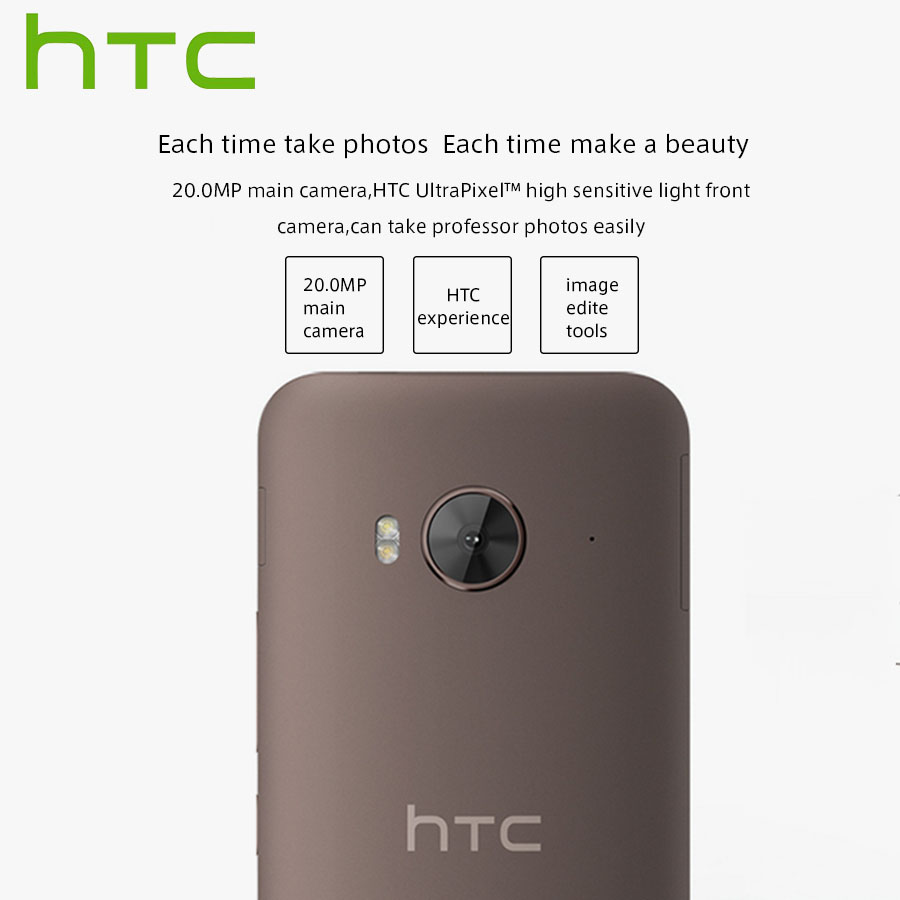 "Image 3 - Spain Delivery NEW HTC One ME M9ew Dual SIM 4G LTE Mobile Phone 5.2"" OctaCore 3GB RAM 32GB ROM 2560x1440P 20MP Android Callphone-in Cellphones from Cellphones & Telecommunications"