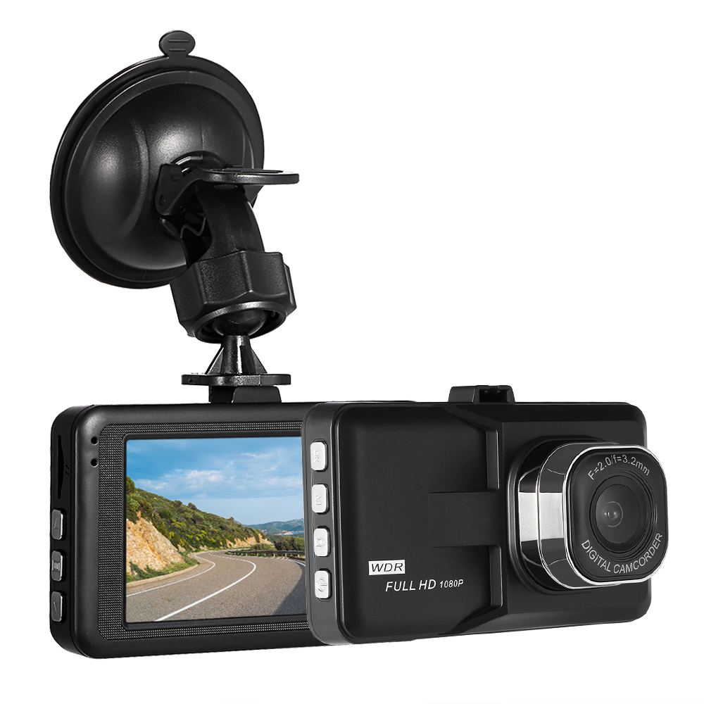 kkmoon 3 car dash camera video recorder car dvr camcorder night vision motion detection loop. Black Bedroom Furniture Sets. Home Design Ideas