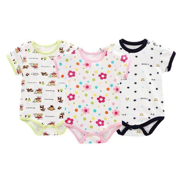 Body z krótkim rękawem Body dla noworodka Dziewczynka Body - Odzież dla niemowląt - Zdjęcie 2