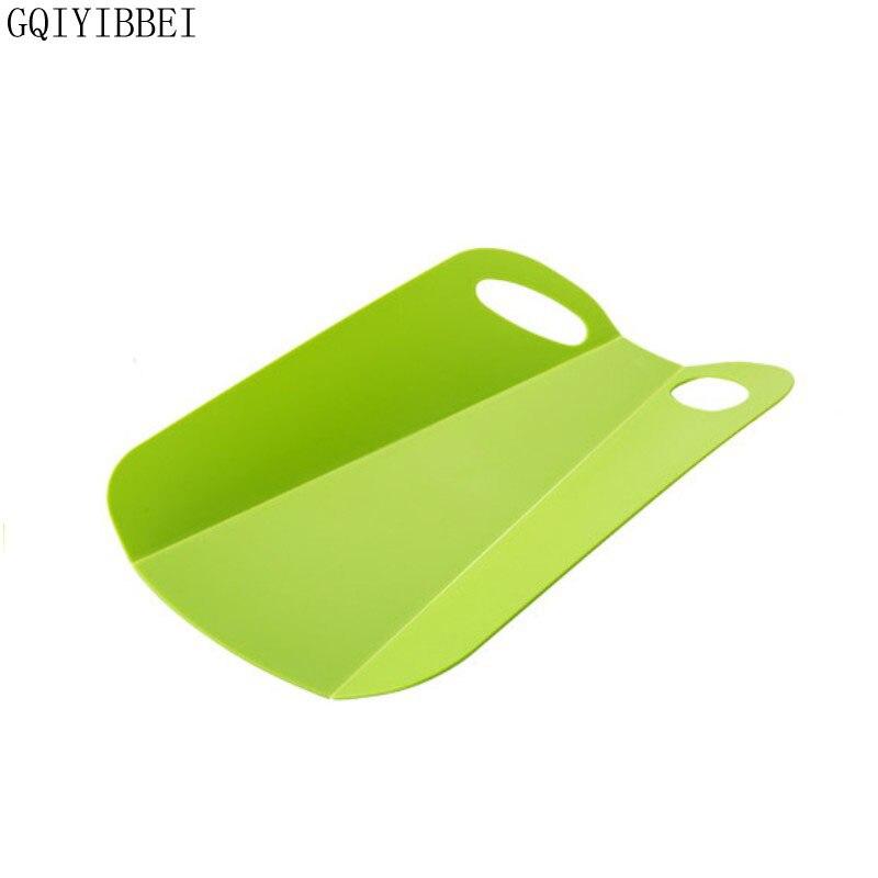 GQIYIBBEI Virtuves salokāmā sasmalcināšanas bloka radošais neslīdošs salokāms griešanas šķēlums, portatīvais kempings āra ēdiena gatavošanas paklājiņš