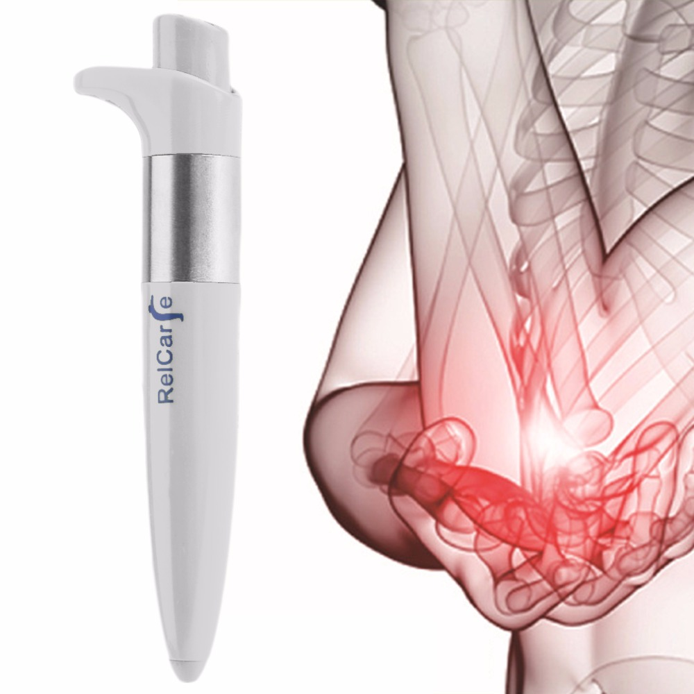 Portable Size Handhled Electronic Pulse Analgesia Pen Body Pain Relief Acupuncture Point Massage Pen Parent Gift