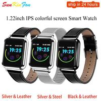For Samsung Galaxy S8 S9 Plus S7 Edge Bluetooth Smart Watch Men Waterproof Blood Pressure Fitness Tracker Heart Rate Smartwatch