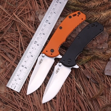High Quality Ball Bearing System CNC Real Camping Folding Knife Blade Material D2 High Hardness 60HRC Outdoor Hunting Survival