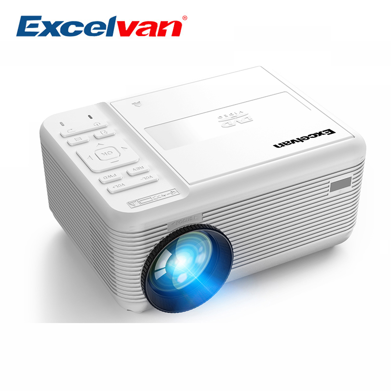 Artlii Portable Hd Home Theater Support 1080p Lcd: MAX 1920*1080P DVD Projector LED TV Portable HD Beamer
