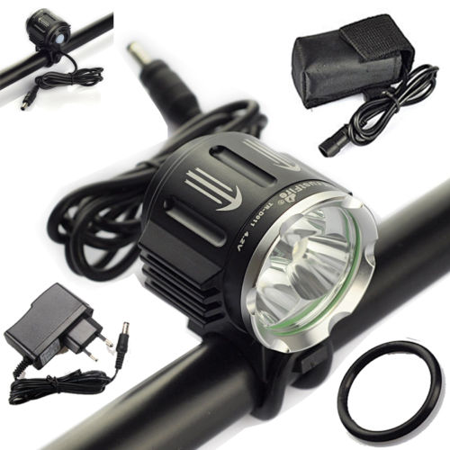 6400mAh TrustFire 6000Lm 3X XM-L2 LED Cycling Front Bicycle Bike Head Lamp Light 10000lm 6x xml t6 led front head bicycle bike front cycling light lamp head headlight black