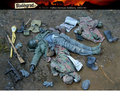 New Unassembled 1/ 35 WWII Russian Fallen German Soldiers, 1943-45  Resin Kit DIY Toys Unpainted kits