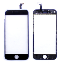 Black Touch Screen Digitizer Panel Glass Lens Touchscreen + Bracket For iphone 6 Replacment Parts Repair For iphone6