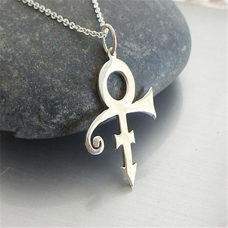 Aliexpress Buy New Classic Prince Symbol Necklace Gold And