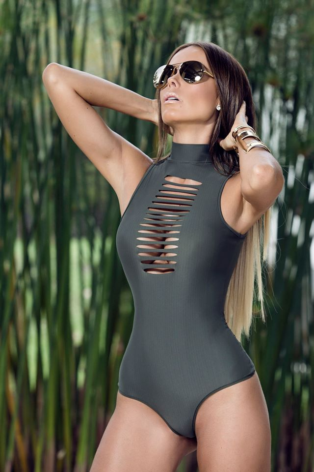6ce85ae740f1 2016 New mesh one piece swimwear black mesh swimsuit sexy mesh monokini cut  out mesh bathing suit sexy high cut swimwear 1569-in One-Piece Suits from  Sports ...