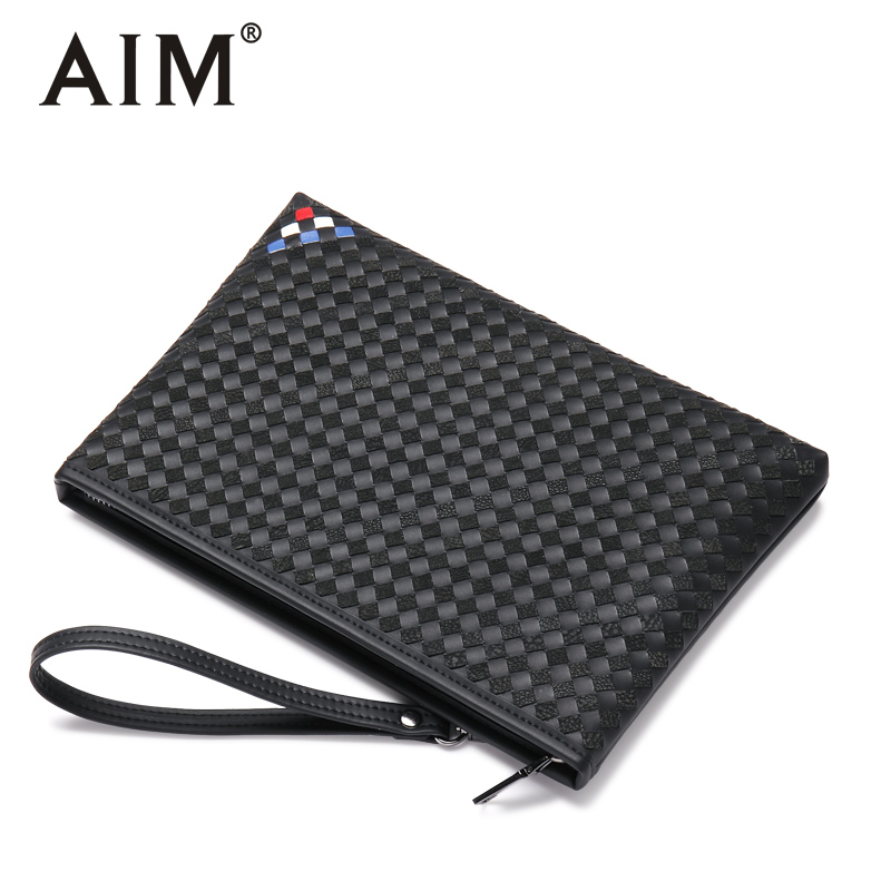 2018 New Fashion Male Clutch Genuine Leather Wallet Men Clutch Bag Clutch Male Wallet Luxury Leather Men Wallet S028