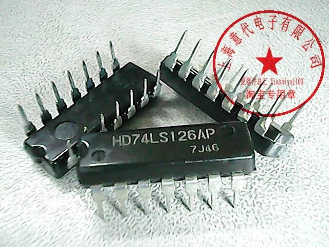 10 Шт. HD74LS126AP 74LS126 Новый