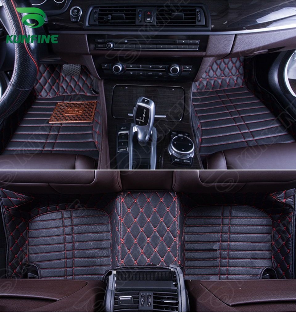Top Quality 3D Car Floor Mat for Hyundai Accent Foot Mat Car Foot Pad Black Coffee Beige Brown Left Hand Driver Carpet
