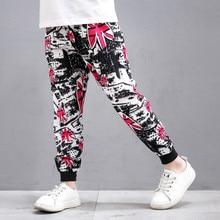 Boys Summer Pants Printed