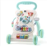 Multi Function Baby Walker Anti Tollover Trolley Baby Music Play 6/7 18 Months Adjustable Speed Walker