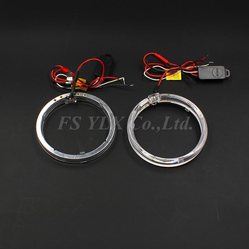 led angel eyes Halo Ring Headlight for Motorcycle 80mm 85mm 95mm 100mm 110mm 115mm 125mm led Angel Eyes Kit LED halo ring kit