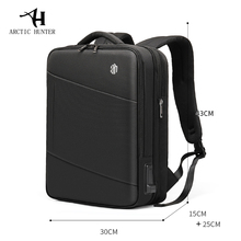 Arctic Hunter Man Backpack Fit 15.6 Inch Laptop USB Recharging Multi-layer High Capacity Travel Male Bags Backpacks