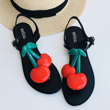 e96f8772 Melisa marca cereza 2019 nuevas sandalias planas de Mujer Zapatos de melisa  para mujer Sandalias de